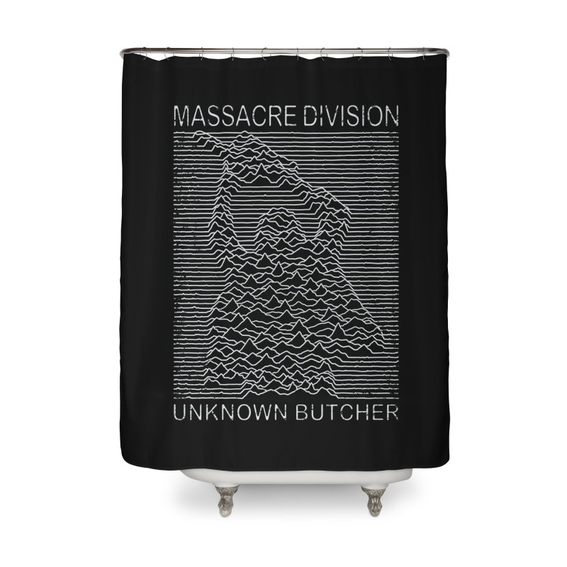Massacre Division Home Shower Curtain by Pigboom's Artist Shop