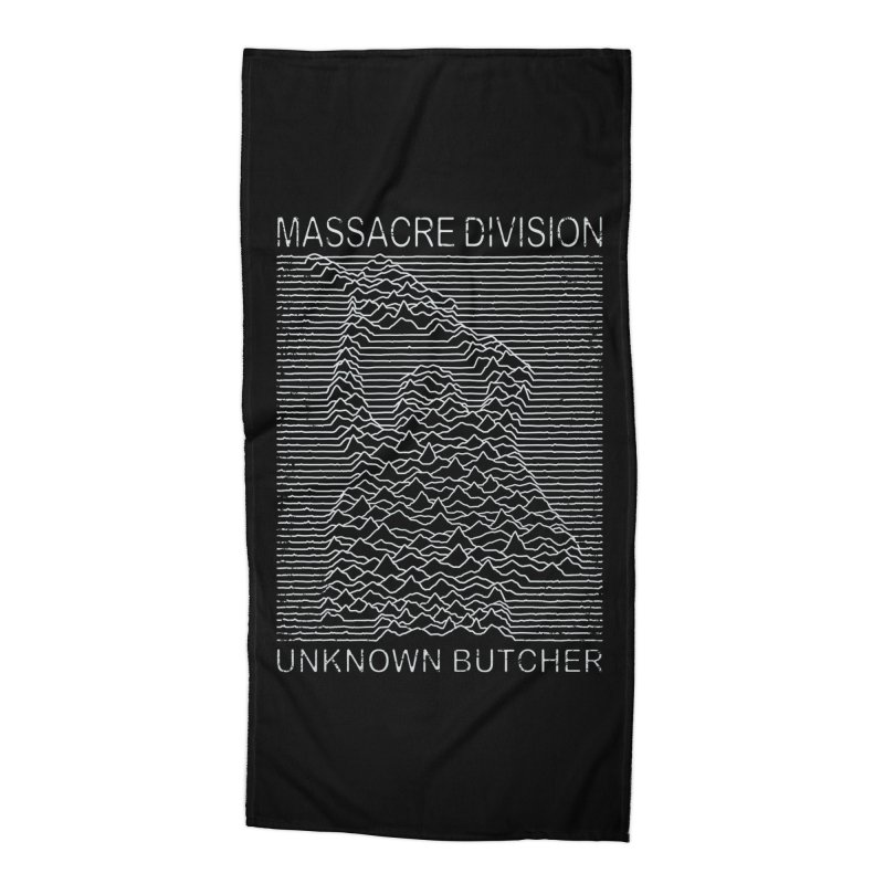 Massacre Division Accessories Beach Towel by Pigboom's Artist Shop
