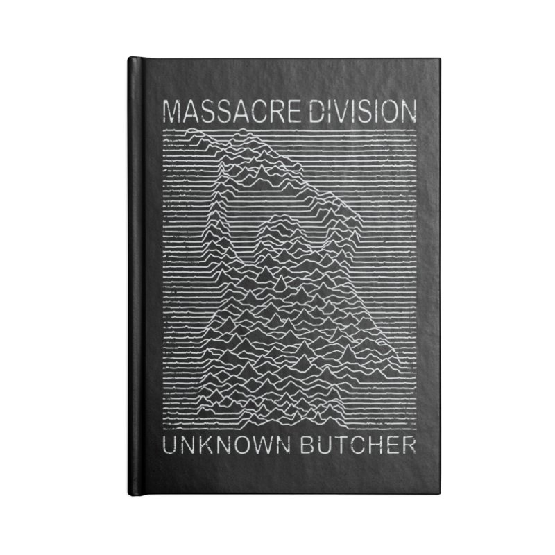 Massacre Division Accessories Notebook by Pigboom's Artist Shop