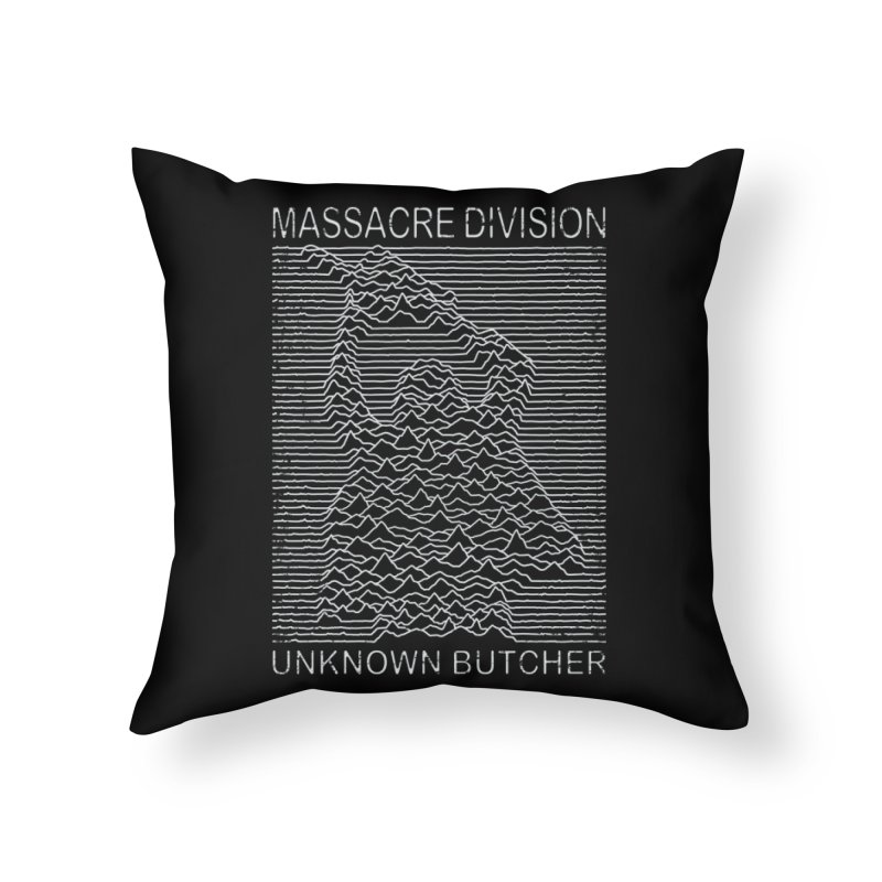 Massacre Division Home Throw Pillow by Pigboom's Artist Shop