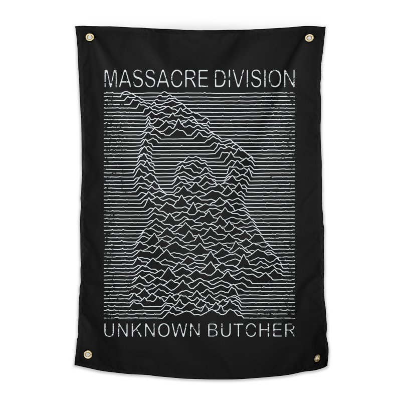 Massacre Division Home Tapestry by Pigboom's Artist Shop