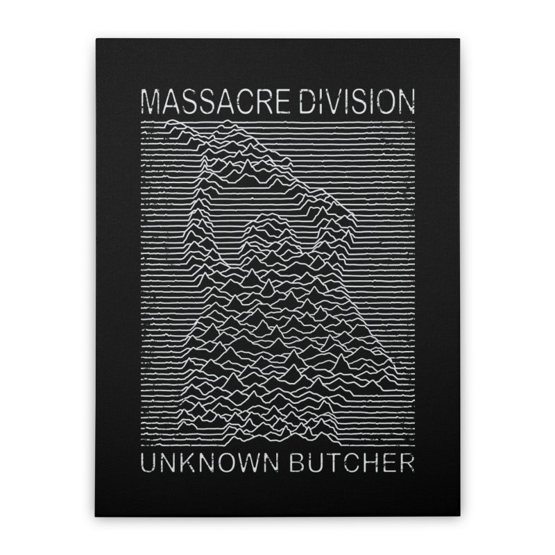 Massacre Division Home Stretched Canvas by Pigboom's Artist Shop