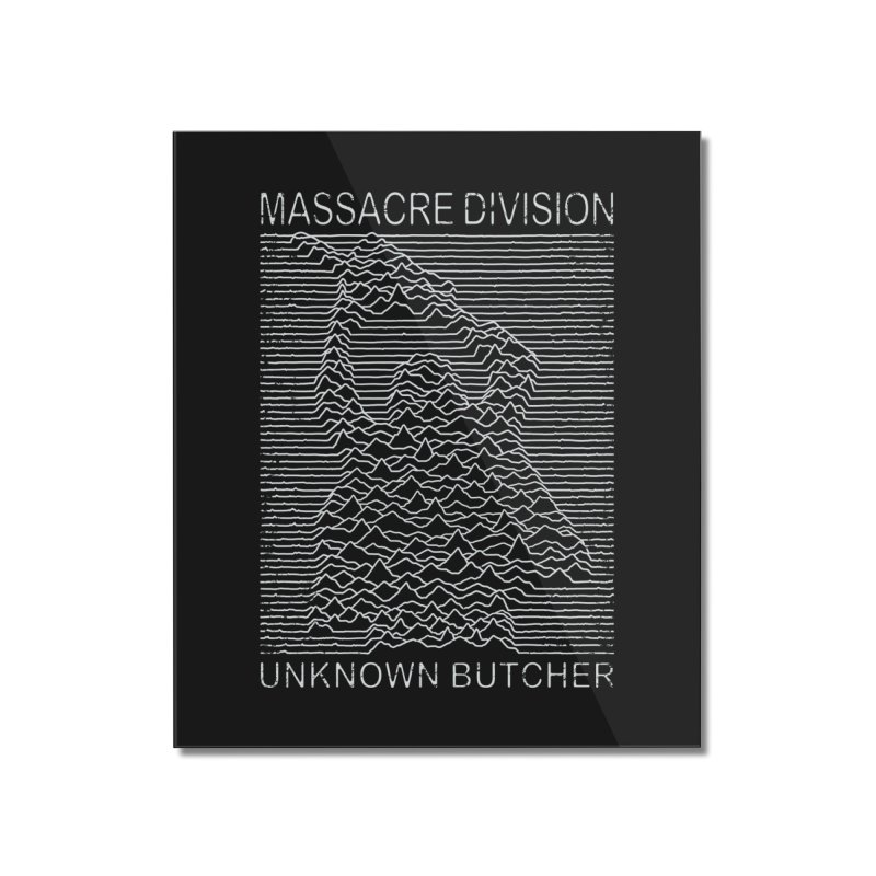 Massacre Division Home Mounted Acrylic Print by Pigboom's Artist Shop