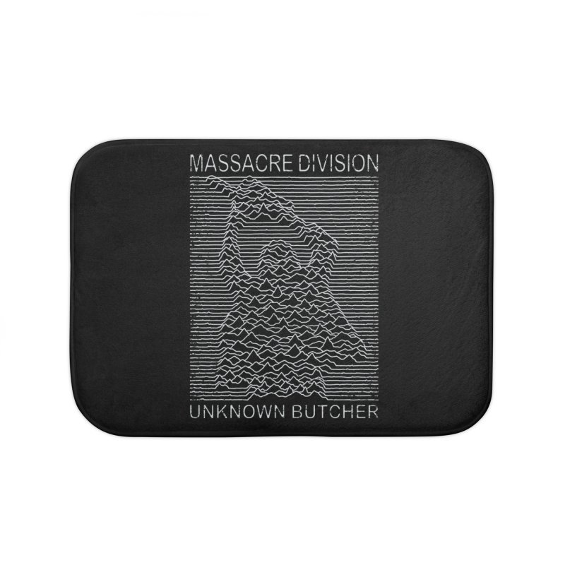 Massacre Division Home Bath Mat by Pigboom's Artist Shop
