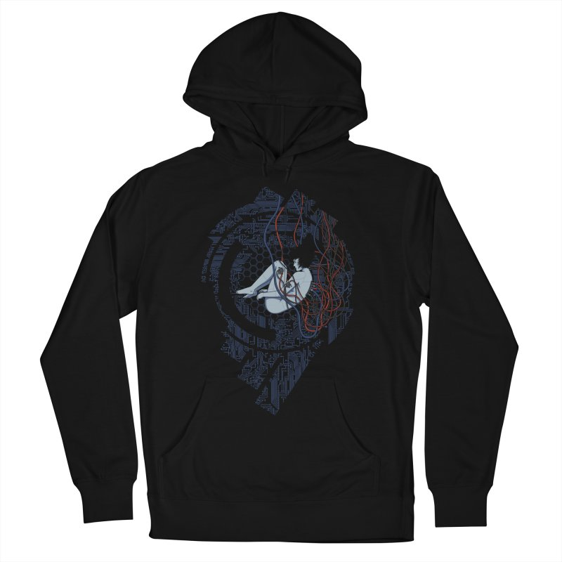 Wired Existence Men's Pullover Hoody by Pigboom's Artist Shop