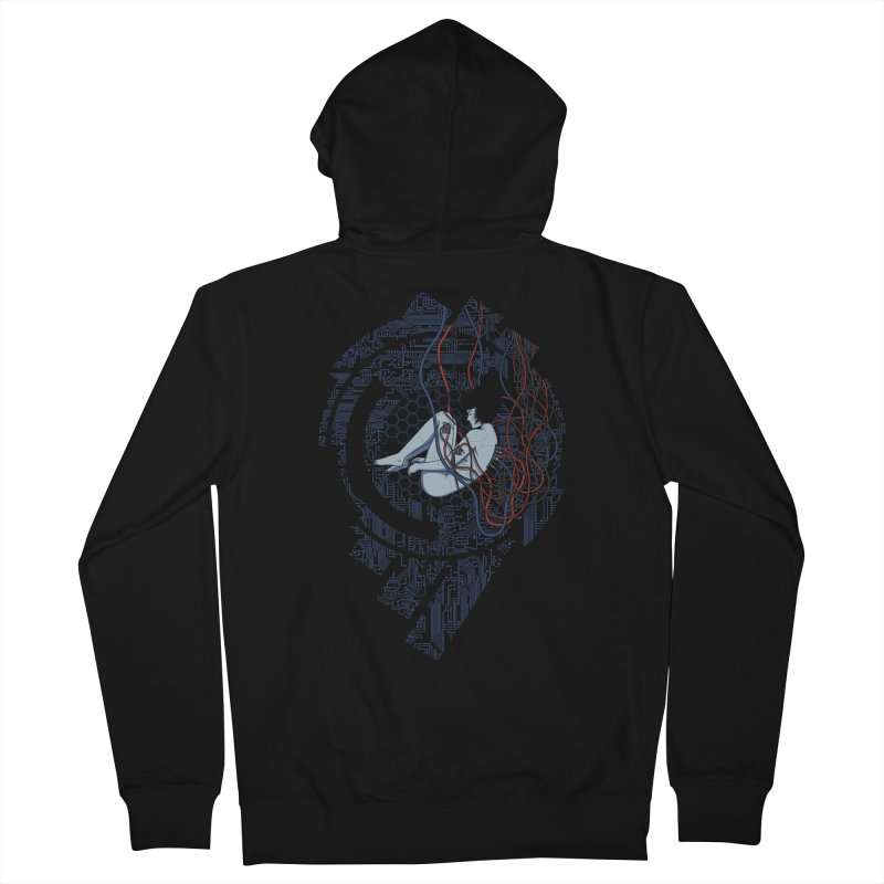 Wired Existence Women's Zip-Up Hoody by Pigboom's Artist Shop