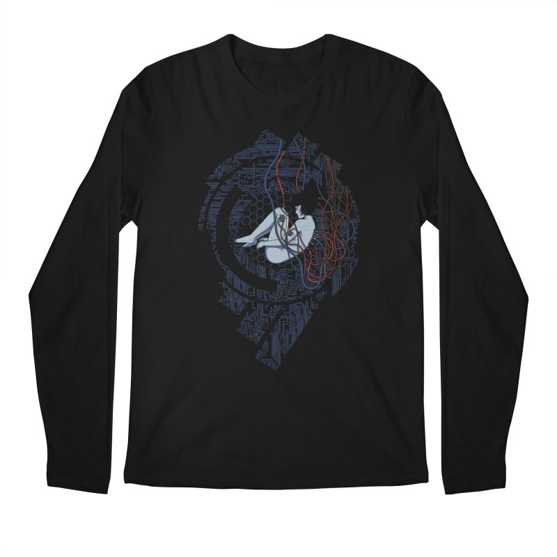 Wired Existence Men's Longsleeve T-Shirt by Pigboom's Artist Shop