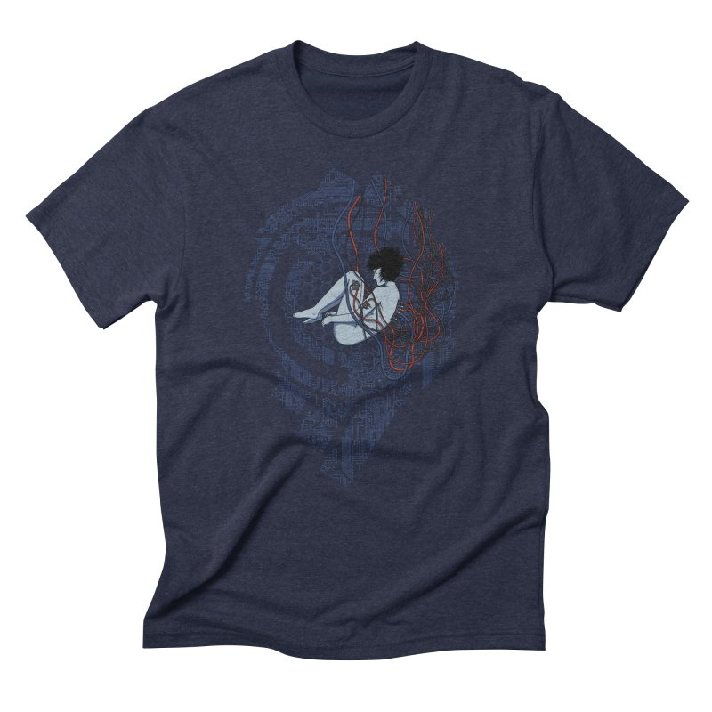Wired Existence Men's Triblend T-Shirt by Pigboom's Artist Shop