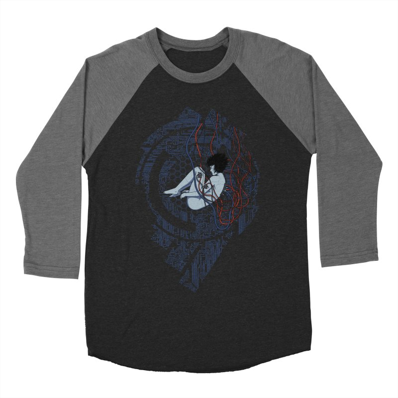 Wired Existence Women's Baseball Triblend T-Shirt by Pigboom's Artist Shop