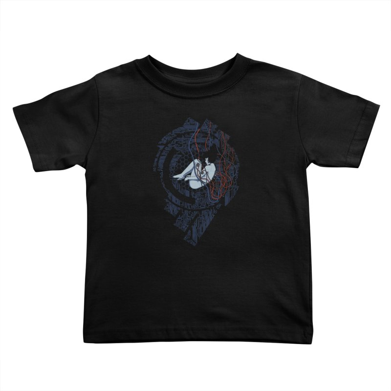 Wired Existence Kids Toddler T-Shirt by Pigboom's Artist Shop