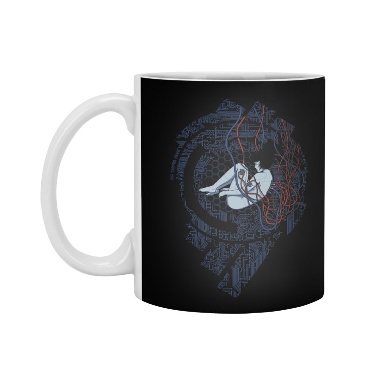 Wired Existence Accessories Mug by Pigboom's Artist Shop