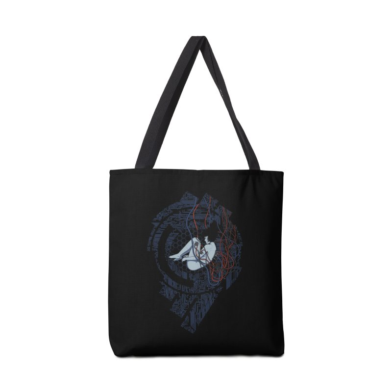 Wired Existence Accessories Bag by Pigboom's Artist Shop