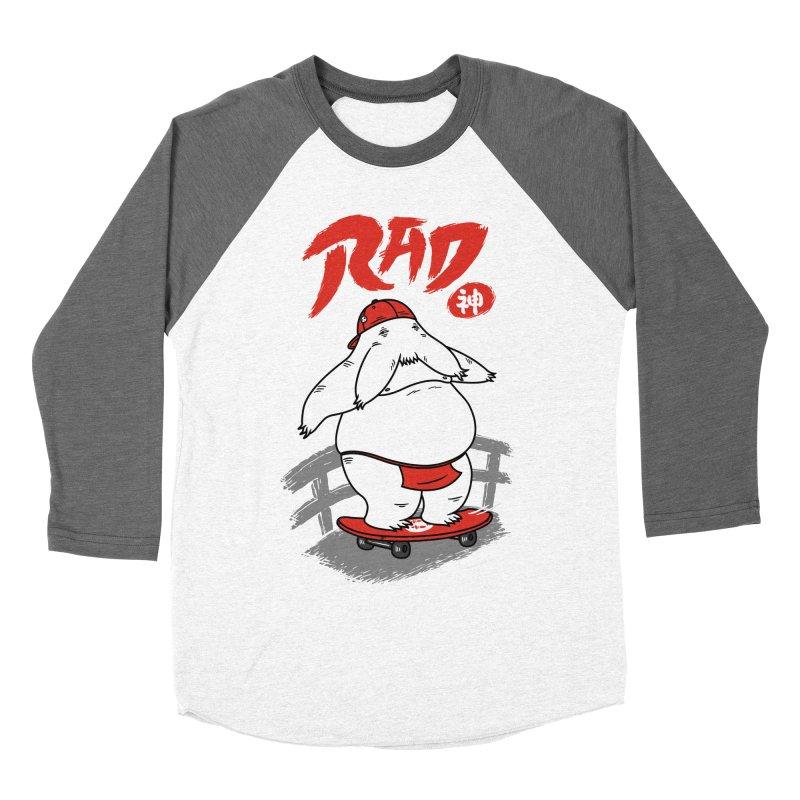 Rad Spirit Men's Baseball Triblend T-Shirt by Pigboom's Artist Shop