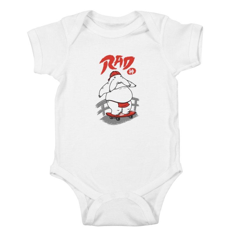 Rad Spirit Kids Baby Bodysuit by Pigboom's Artist Shop