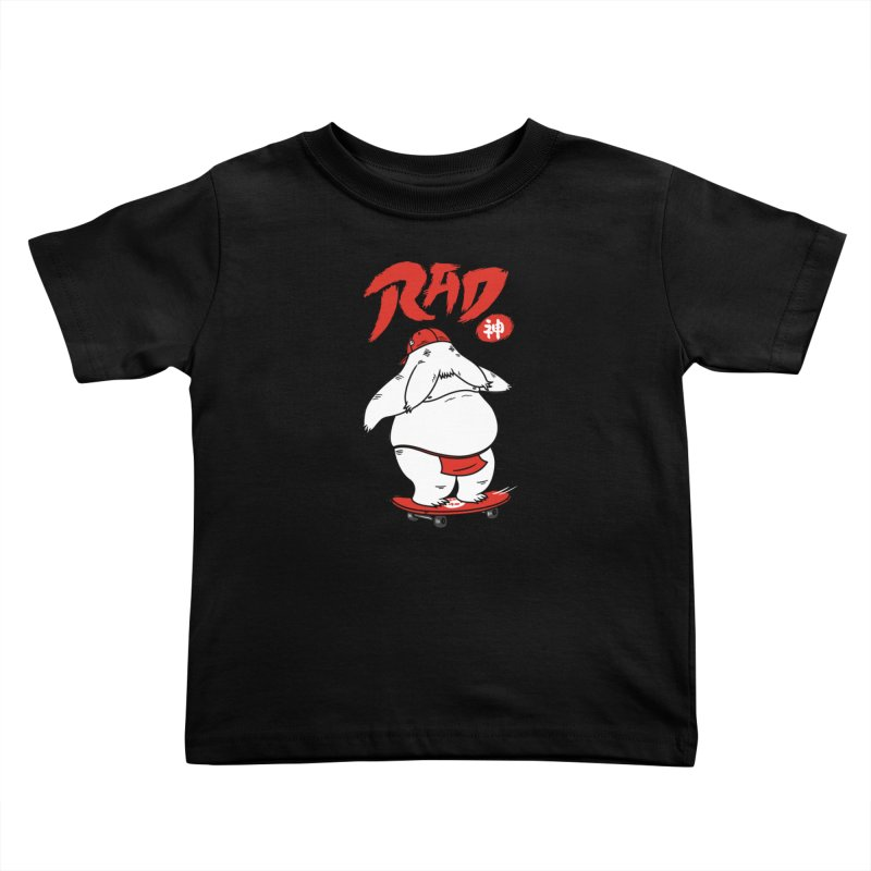 Rad Spirit Kids Toddler T-Shirt by Pigboom's Artist Shop
