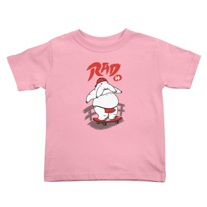 Rad Spirit Kids Toddler T-Shirt by Pigboom's Artist Shop