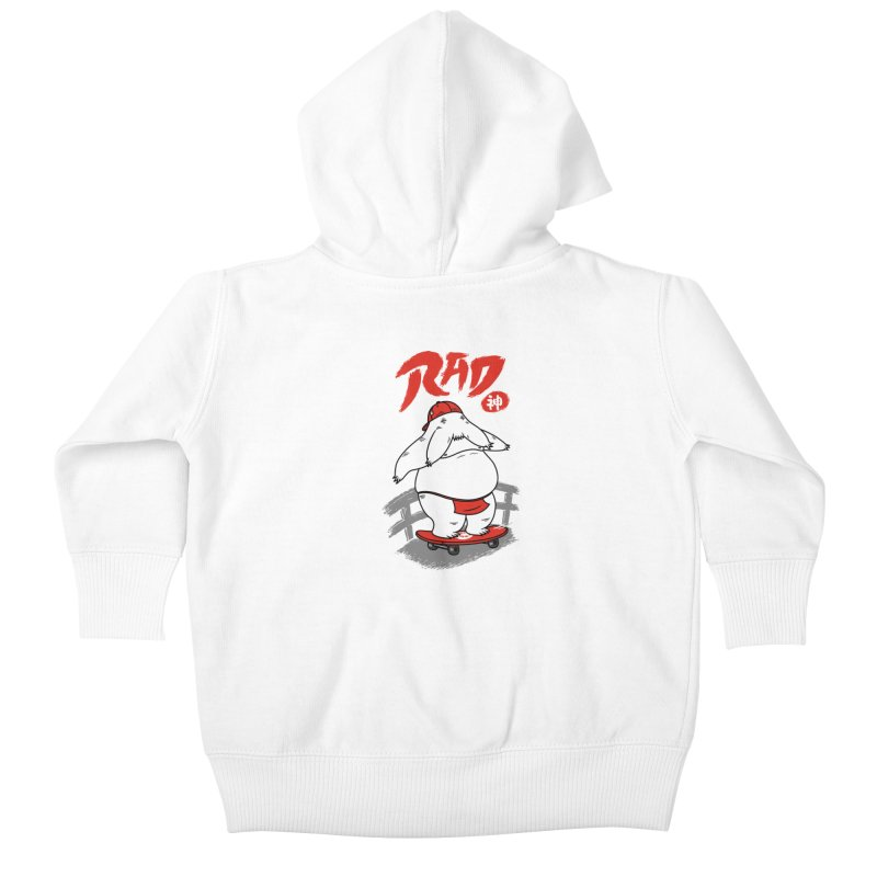 Rad Spirit Kids Baby Zip-Up Hoody by Pigboom's Artist Shop