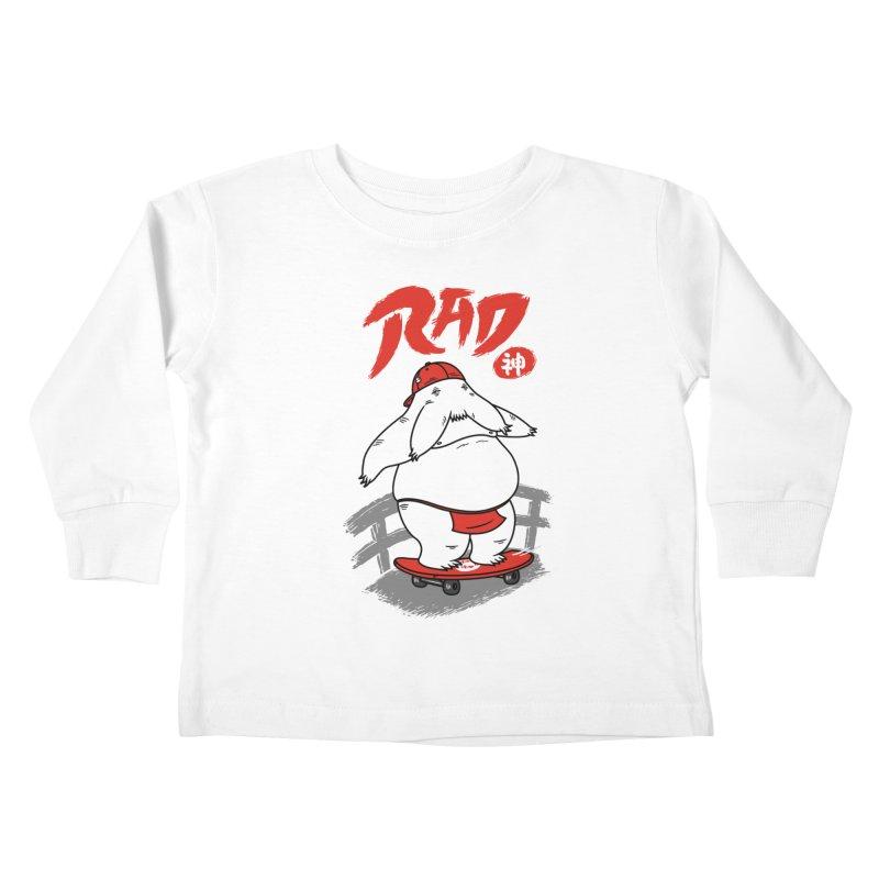Rad Spirit Kids Toddler Longsleeve T-Shirt by Pigboom's Artist Shop