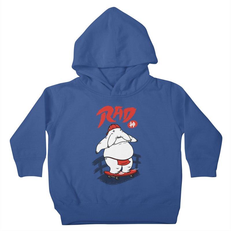 Rad Spirit Kids Toddler Pullover Hoody by Pigboom's Artist Shop