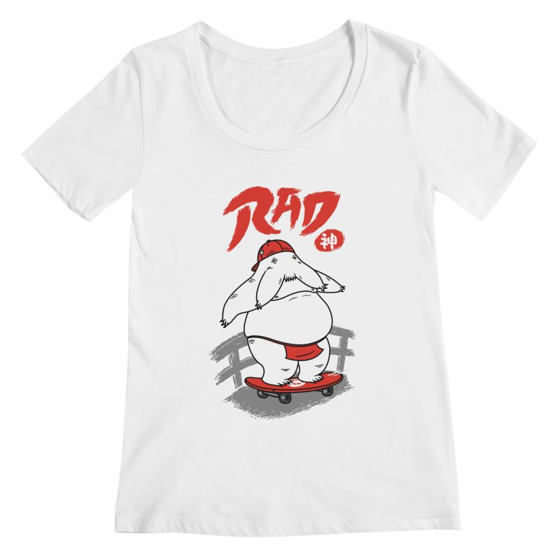 Rad Spirit Women's Scoopneck by Pigboom's Artist Shop