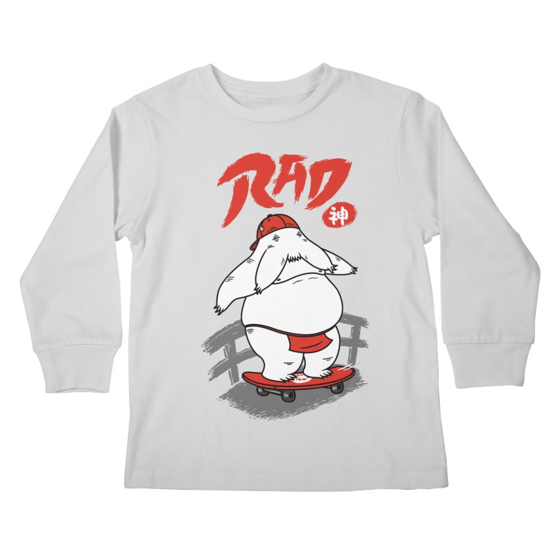 Rad Spirit Kids Longsleeve T-Shirt by Pigboom's Artist Shop