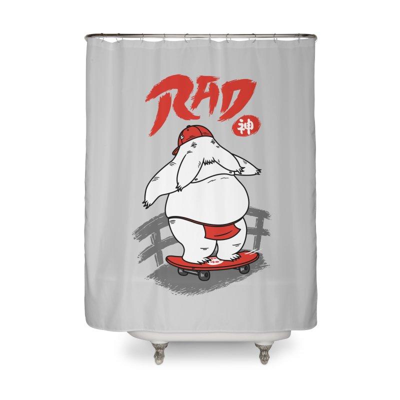 Rad Spirit Home Shower Curtain by Pigboom's Artist Shop
