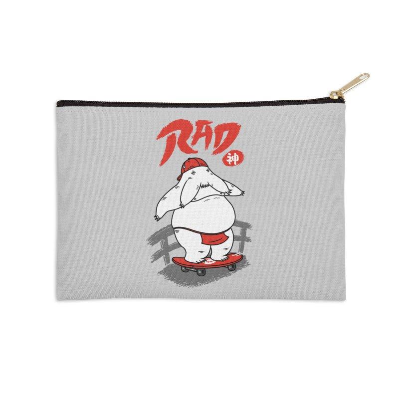 Rad Spirit Accessories Zip Pouch by Pigboom's Artist Shop