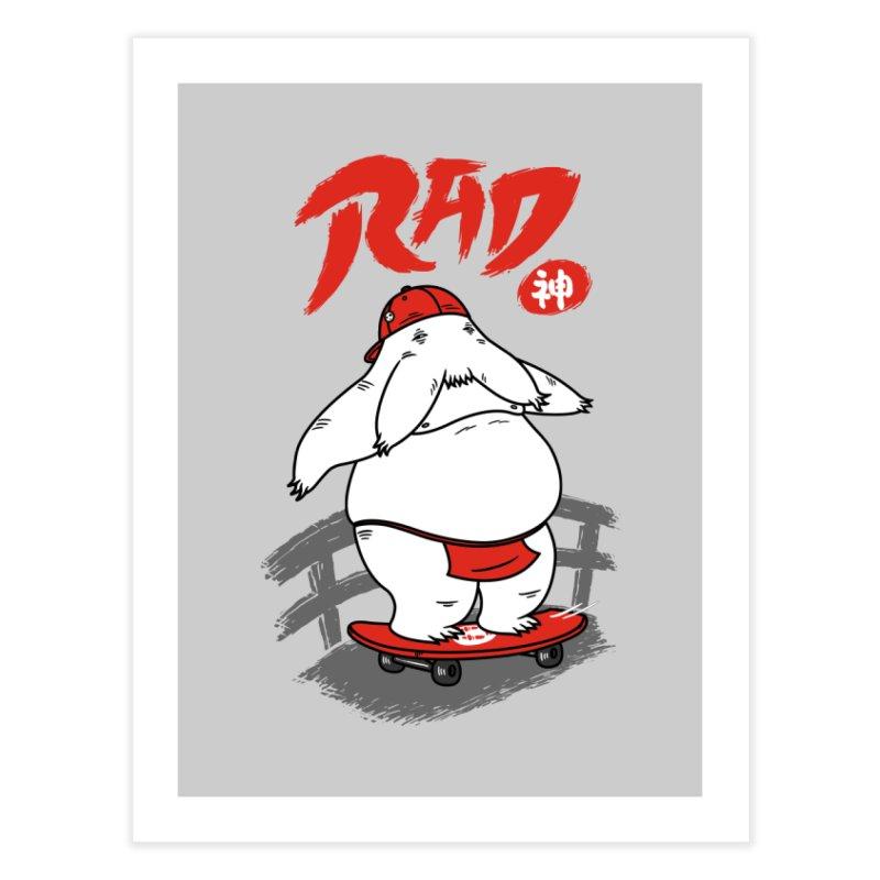 Rad Spirit Home Fine Art Print by Pigboom's Artist Shop