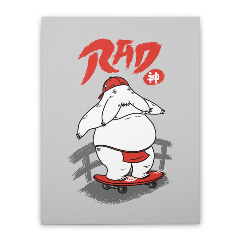 Rad Spirit Home Stretched Canvas by Pigboom's Artist Shop