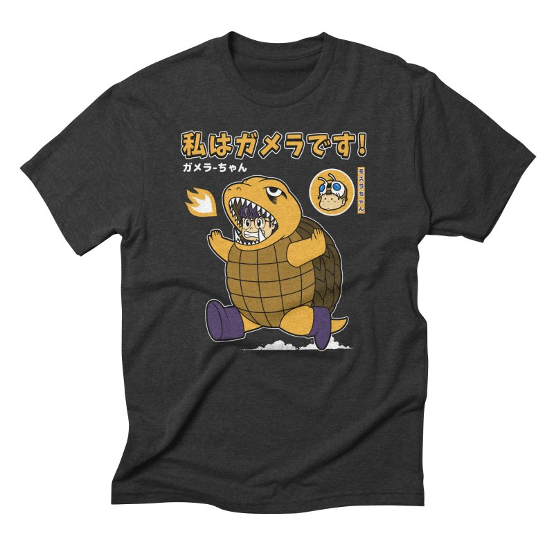 Kaiju Play Men's Triblend T-Shirt by Pigboom's Artist Shop