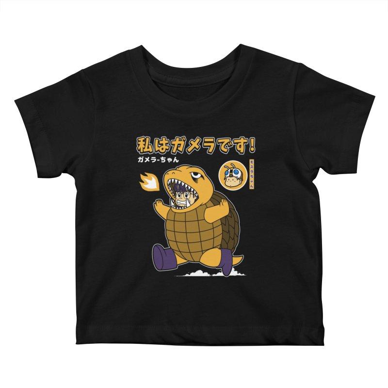 Kaiju Play Kids Baby T-Shirt by Pigboom's Artist Shop