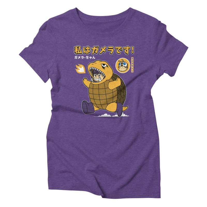 Kaiju Play Women's Triblend T-shirt by Pigboom's Artist Shop