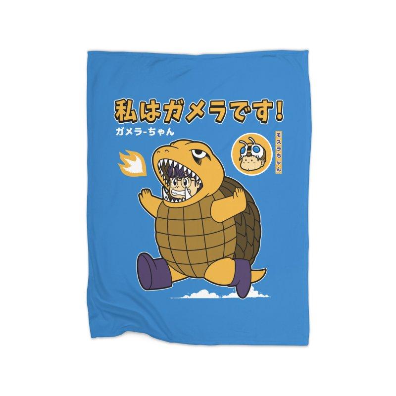 Kaiju Play Home Blanket by Pigboom's Artist Shop