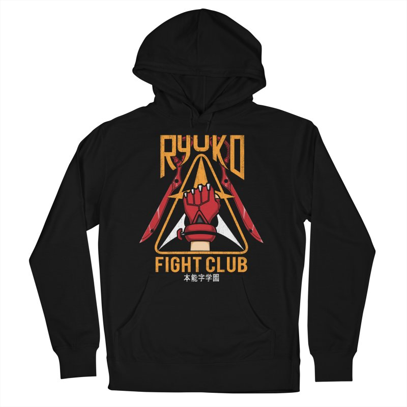 Honnouji Academy Fight Club Women's Pullover Hoody by Pigboom's Artist Shop