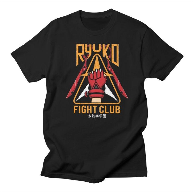 Honnouji Academy Fight Club Men's T-Shirt by Pigboom's Artist Shop