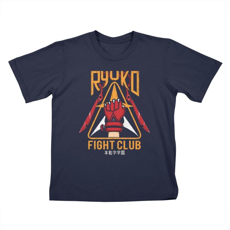 Honnouji Academy Fight Club Kids T-Shirt by Pigboom's Artist Shop
