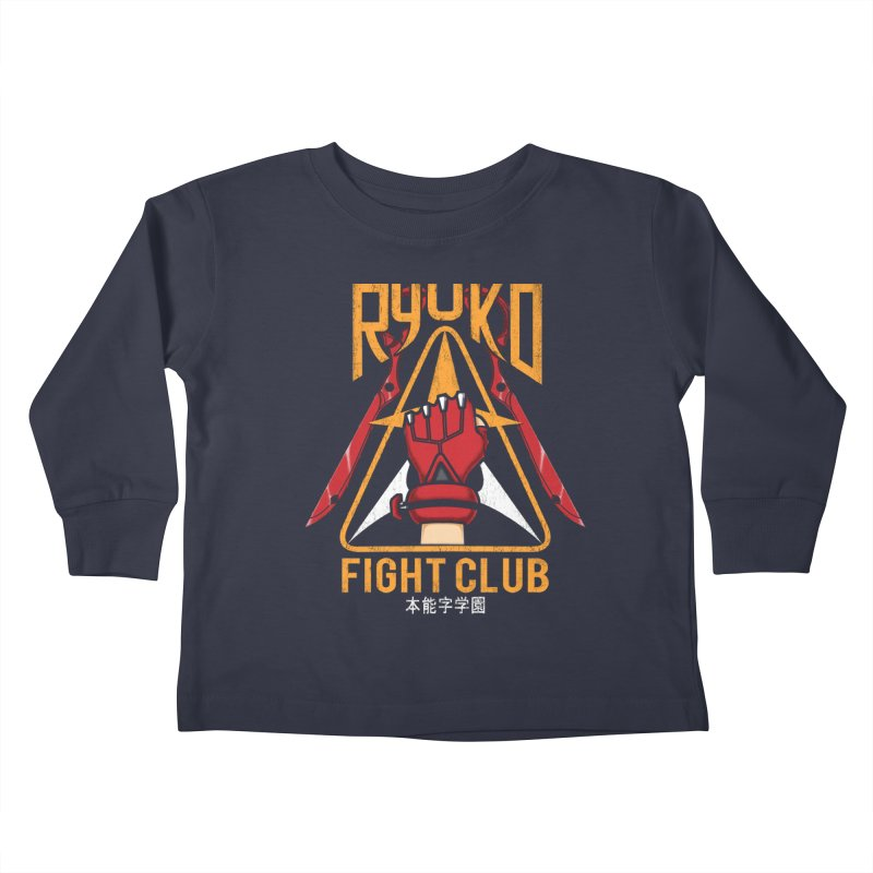 Honnouji Academy Fight Club Kids Toddler Longsleeve T-Shirt by Pigboom's Artist Shop