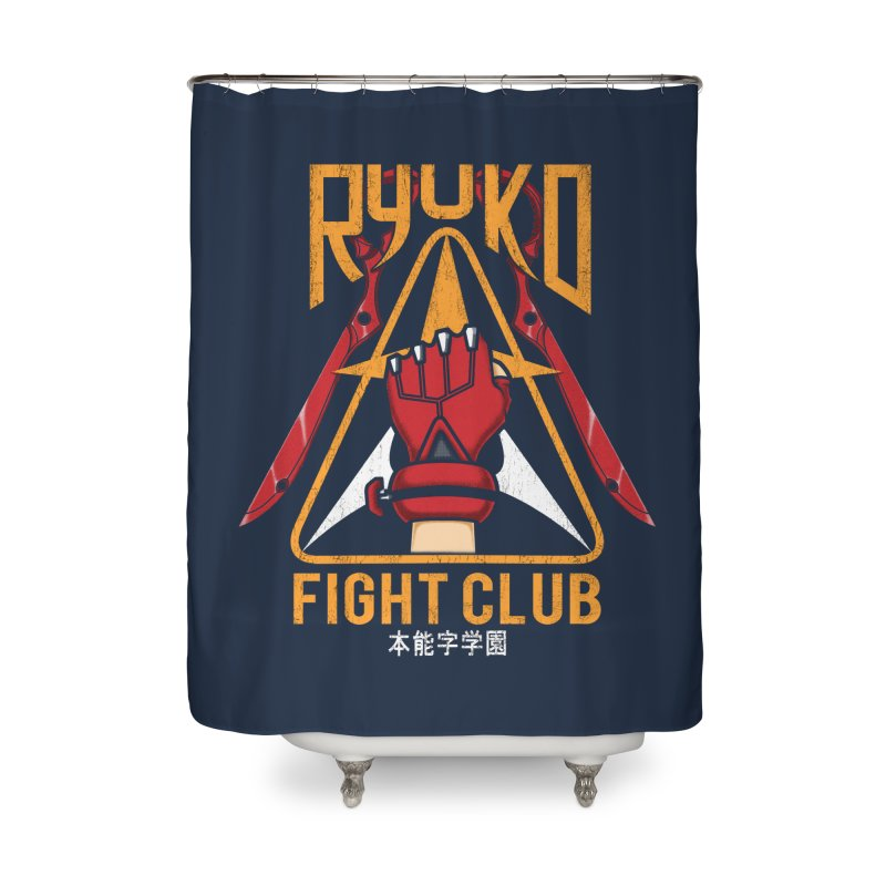 Honnouji Academy Fight Club Home Shower Curtain by Pigboom's Artist Shop