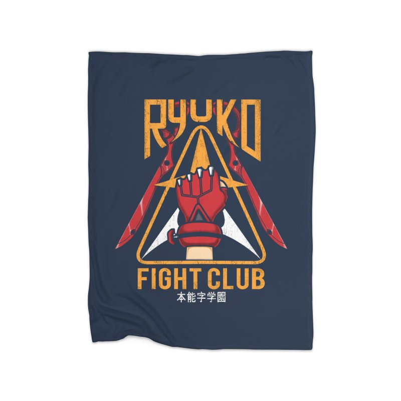 Honnouji Academy Fight Club Home Fleece Blanket by Pigboom's Artist Shop