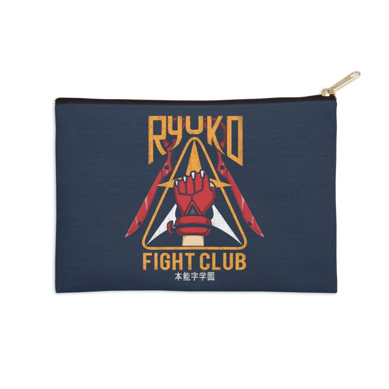 Honnouji Academy Fight Club Accessories Zip Pouch by Pigboom's Artist Shop