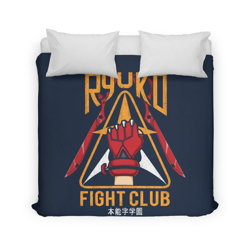 Honnouji Academy Fight Club Home Duvet by Pigboom's Artist Shop