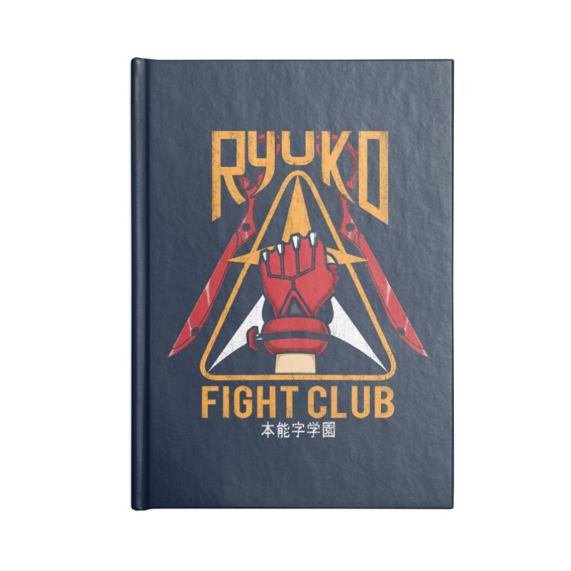 Honnouji Academy Fight Club Accessories Notebook by Pigboom's Artist Shop