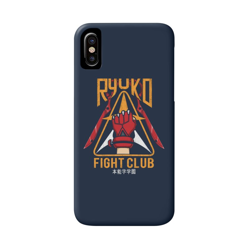 Honnouji Academy Fight Club Accessories Phone Case by Pigboom's Artist Shop