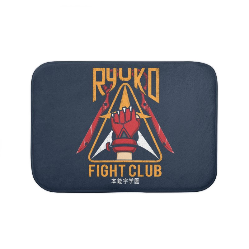 Honnouji Academy Fight Club Home Bath Mat by Pigboom's Artist Shop