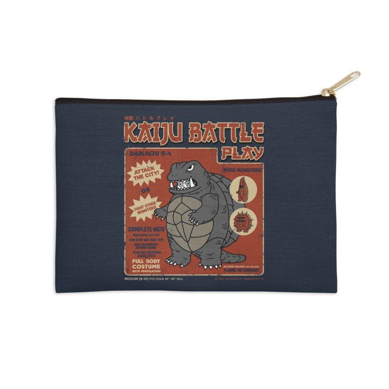 Kaiju Battle Player 04 Accessories Zip Pouch by Pigboom's Artist Shop