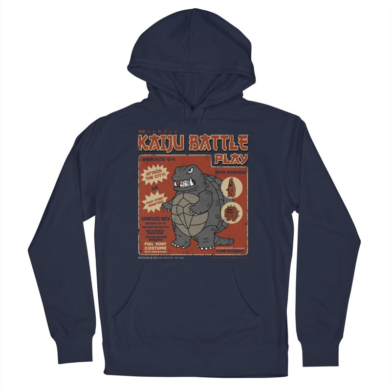 Kaiju Battle Player 04 Men's Pullover Hoody by Pigboom's Artist Shop