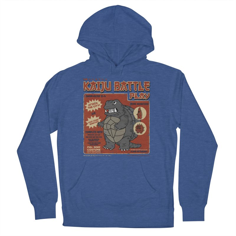 Kaiju Battle Player 04 Men's Pullover Hoody by Pigboom's Artist Shop