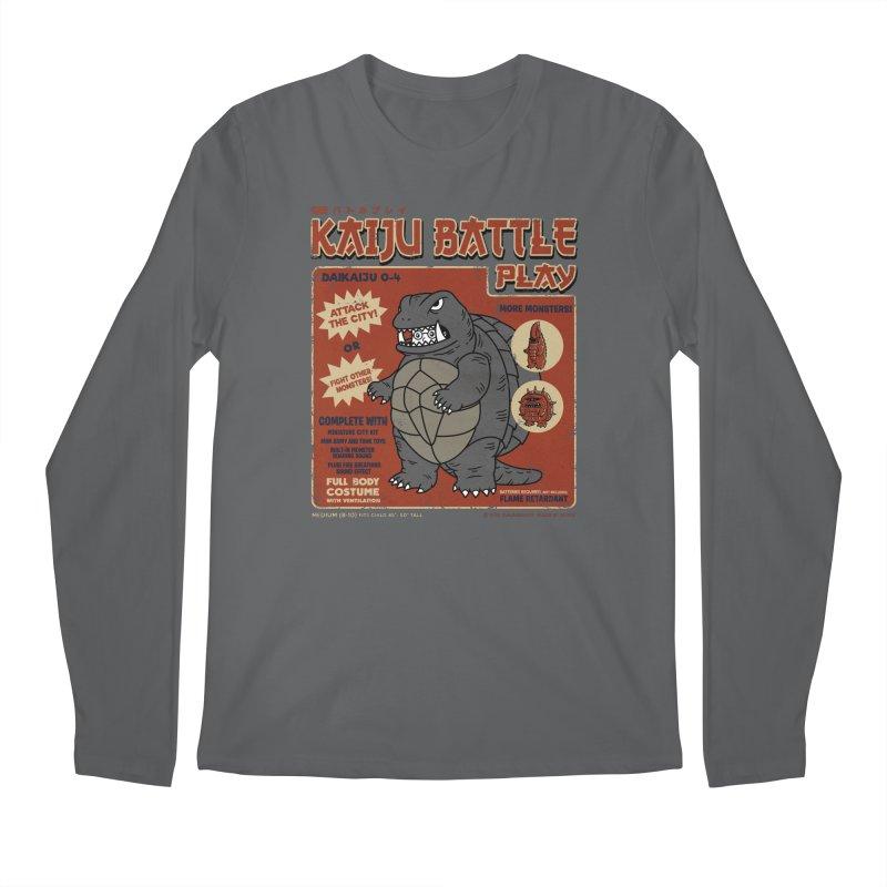 Kaiju Battle Player 04 Men's Longsleeve T-Shirt by Pigboom's Artist Shop
