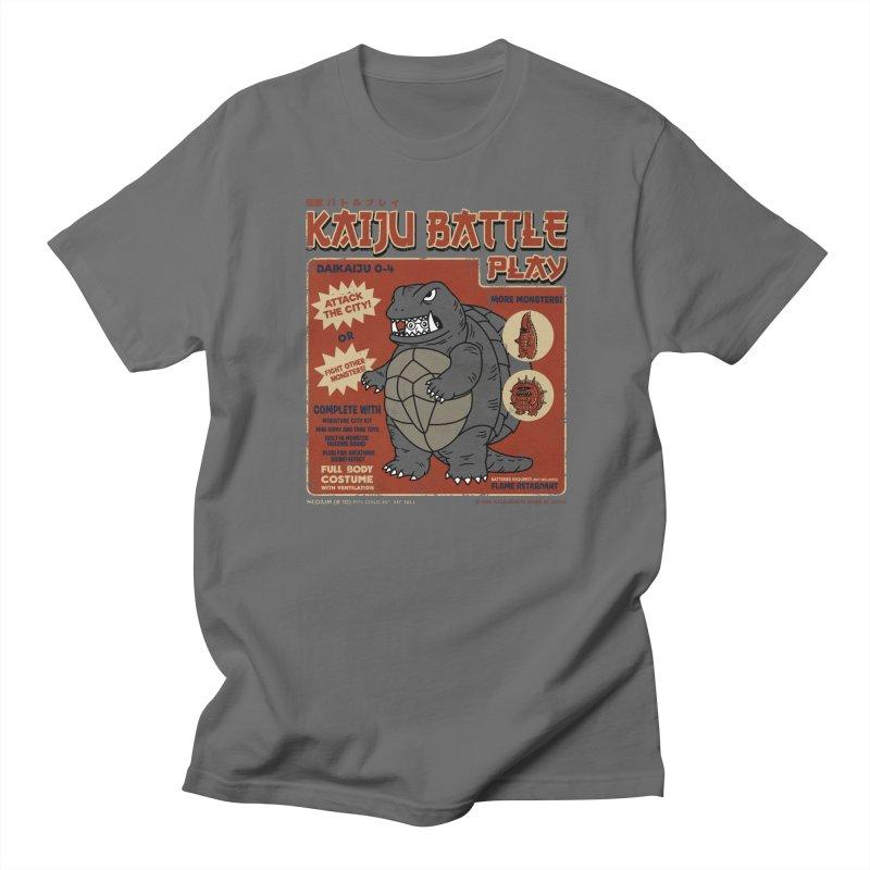 Kaiju Battle Player 04 Women's Unisex T-Shirt by Pigboom's Artist Shop