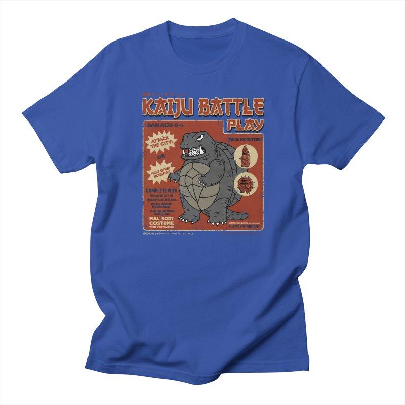 Kaiju Battle Player 04 Men's T-Shirt by Pigboom's Artist Shop